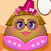 Pou Girl Dress Up
