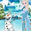 Elsa thay trang phục