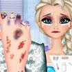 Trị thương chân Elsa