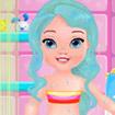 Elsa chăm sóc bé 2