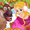 Rapunzel đón giáng sinh