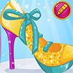 Barbie thiết kế giày