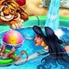 Công chúa đi bơi
