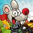 Chuột con qua đường