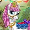 Công chúa chăm sóc ngựa