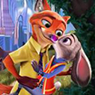 Judy và Nick Kissing