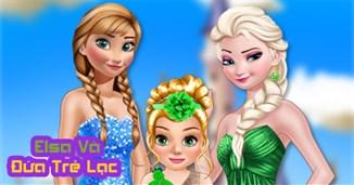 Elsa và đứa trẻ lạc