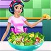 Công chúa làm Salad