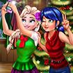 Elsa và Ladybug: Chụp ảnh tự sướng