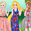 Princesses Floral Style