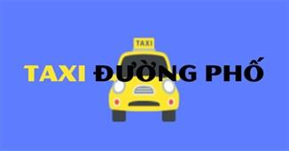 Taxi đường phố