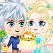 Elsa: Làm bánh sinh nhật