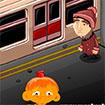 Chú khỉ buồn: Ga tàu điện ngầm