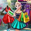 Công chúa Elsa mua sắm