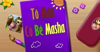 Tô màu cô bé Masha
