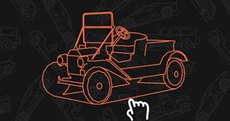 Mô hình 3D - Xe ô tô