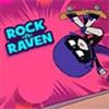 Raven trượt ván