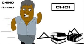 Chino tập chạy