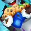 Zombie ăn bánh quy