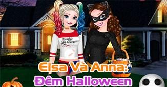 Elsa và Anna: Đêm halloween