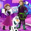 Elsa: Trang trí lâu đài