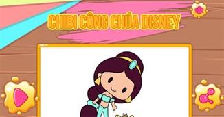 Chibi công chúa Disney