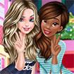 Elsa và Tiana đi mua sắm