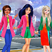 Princess Anti Fashion Color Blocks