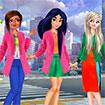 Công chúa: Thời trang sắc màu
