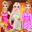 Princesses Thanksgiving Party