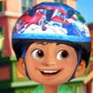 Miguel chơi xe trượt Scooter