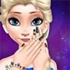 Elsa làm móng tay 2