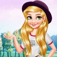 Công chúa tóc mây xinh đẹp