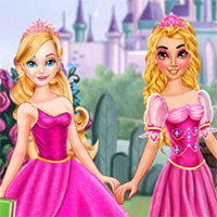 Hóa trang công chúa Barbie