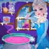 Elsa chế thuốc