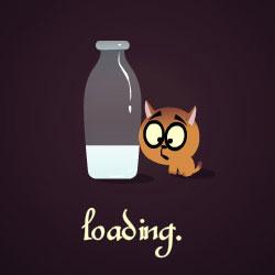 Sữa của mèo con