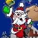 Santa trên mái nhà