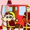 Bé làm lính cứu hỏa