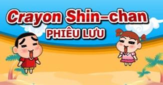 Crayon Shinchan phiêu lưu