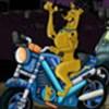 Scooby đua mô tô
