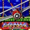 Sonic lái máy bay