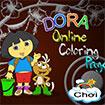 Tô màu Dora