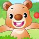 Gấu con tinh nghịch