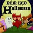 Ném kẹo Halloween