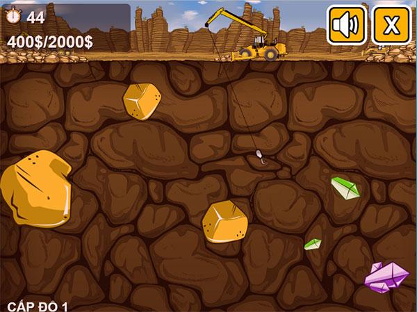 Máy đào vàng