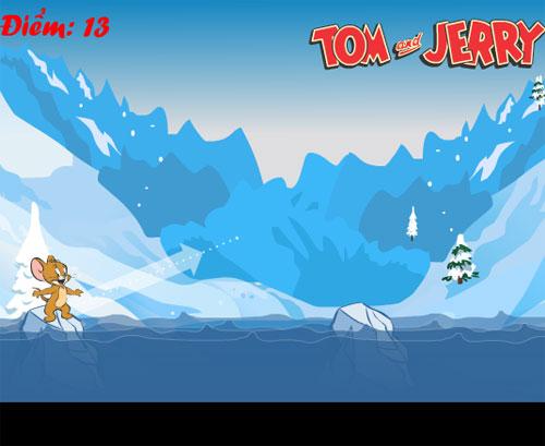 Tom và Jerry vượt sông