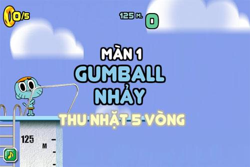 Gumball nhảy cầu