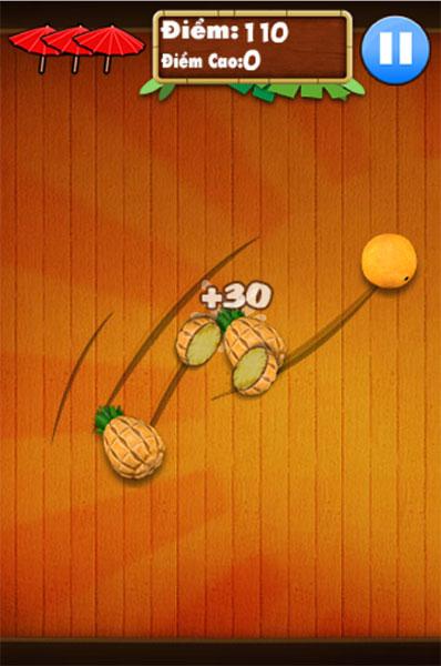 Chém hoa quả