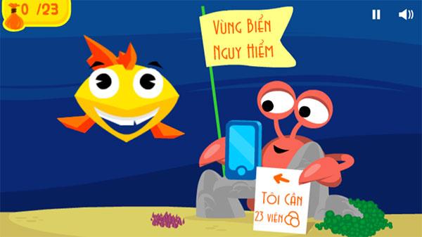 cá nhỏ phiêu lưu