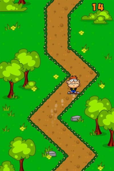 Màn hình chơi game Con đường đáng sợ